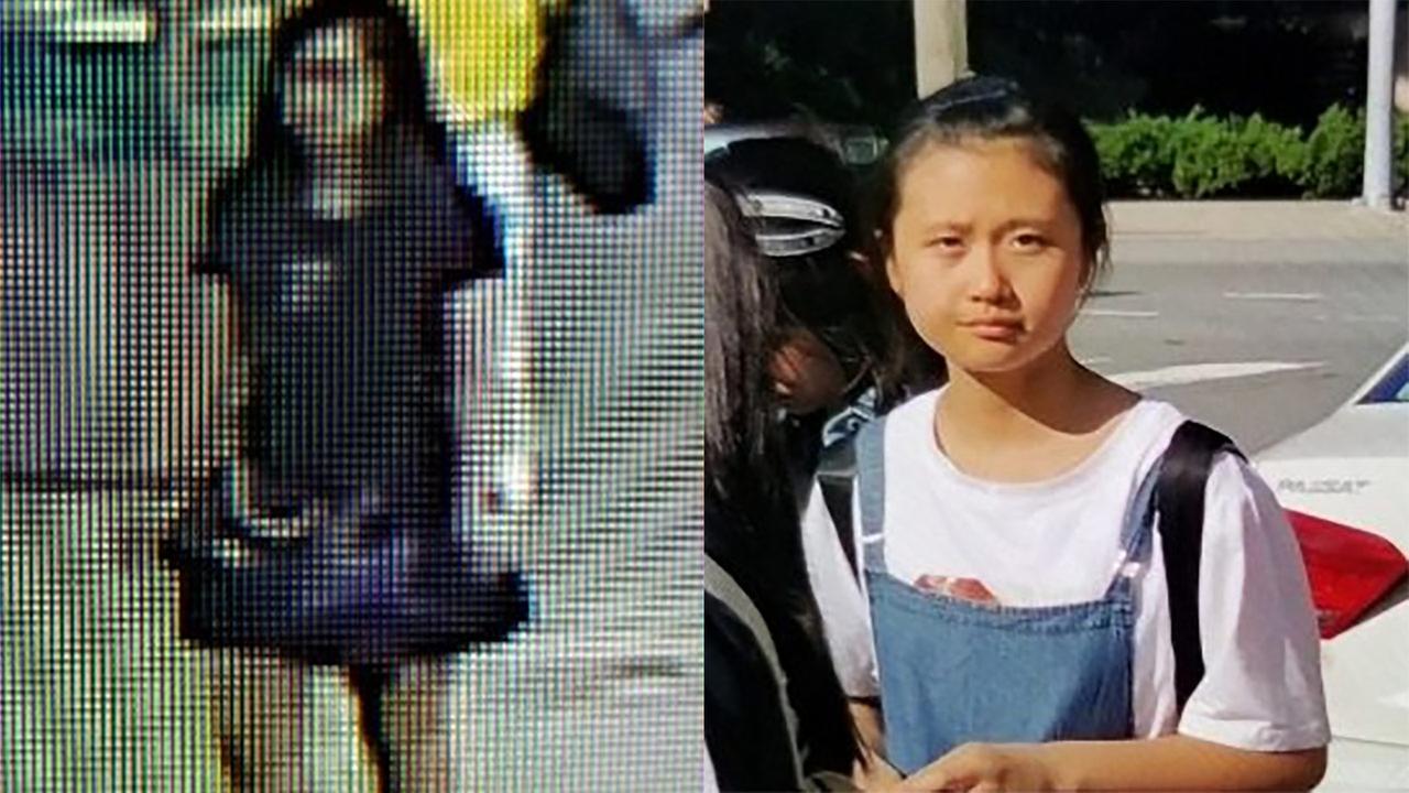 Police say JingJing Ma is from China and arrived in America with a tour group.