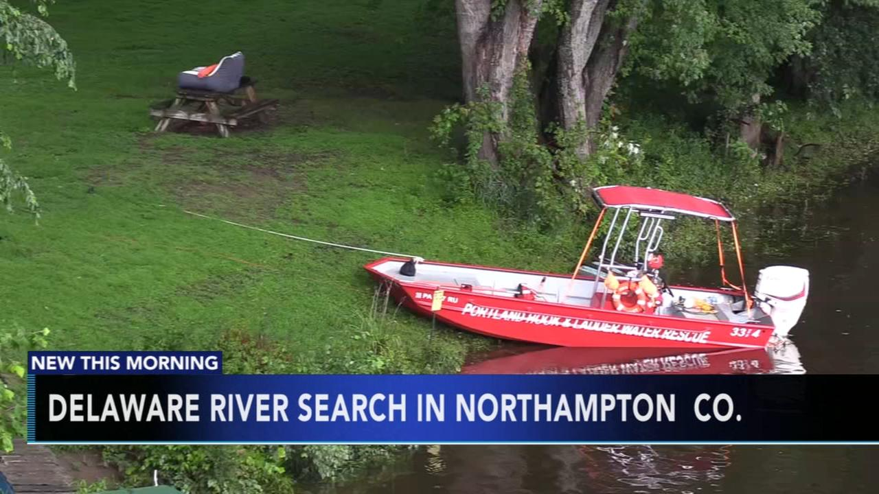 Search continues for missing father in Delaware River