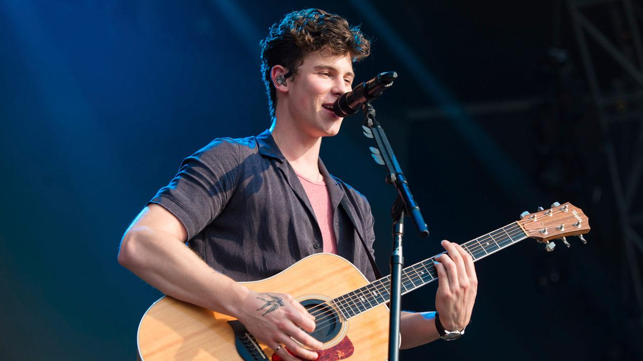 Shawn Mendes performs at The Governors Ball Music Festival at Randalls Island Park on Friday, June 1, 2018 in New York.