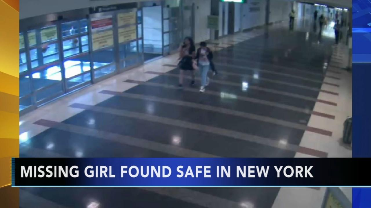 Girl who went missing from DC airport found safe in NYC