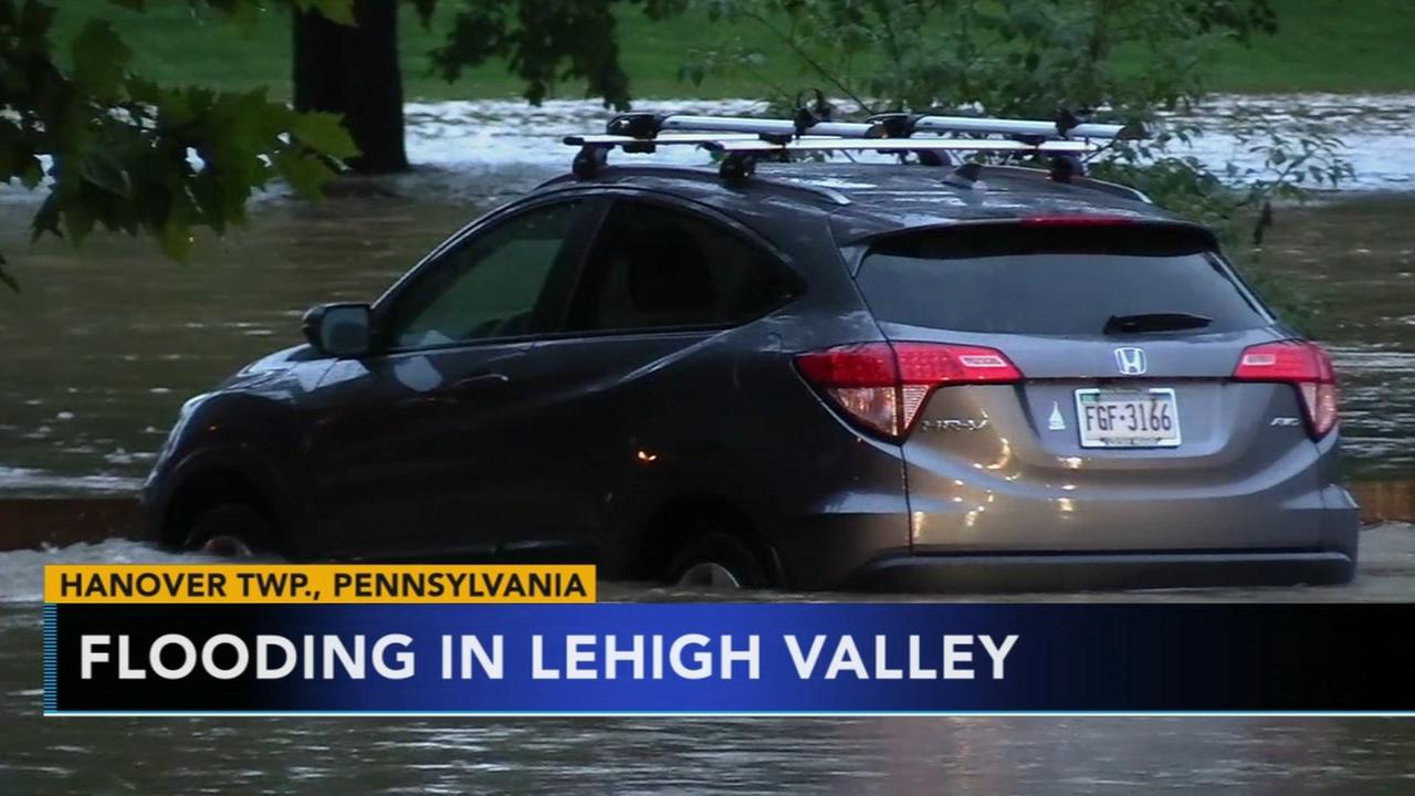 Lehigh Valley impacted by heavy rains, flooding