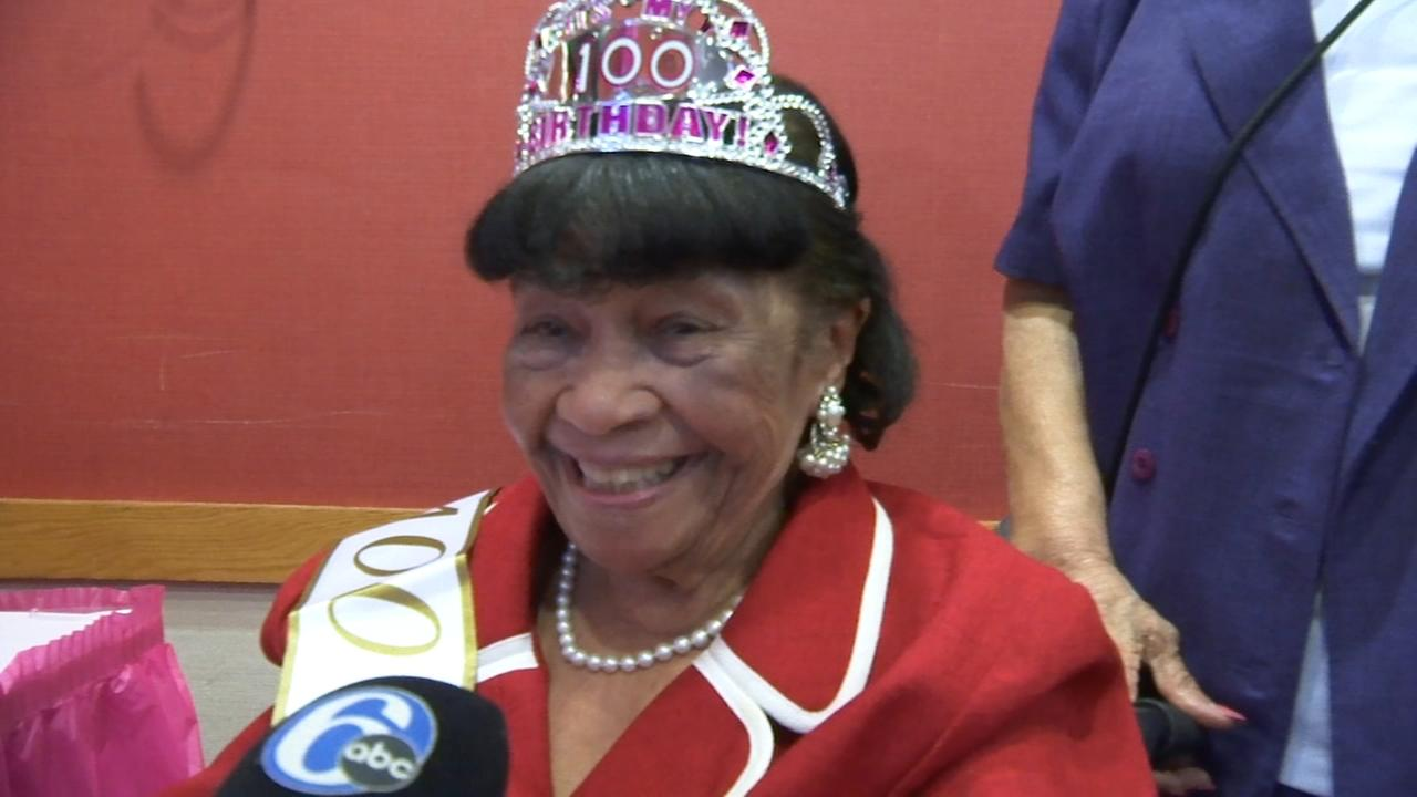 Centenarian says hard work is the secret to a long life