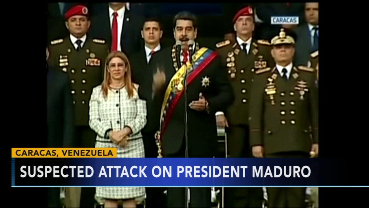 Venezuelas Maduro: Drone attack was attempt to kill him