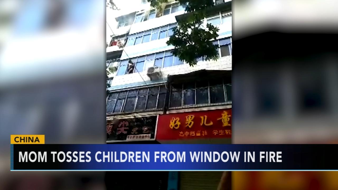 Heroic mother sacrifices herself to save children from apartment fire in China