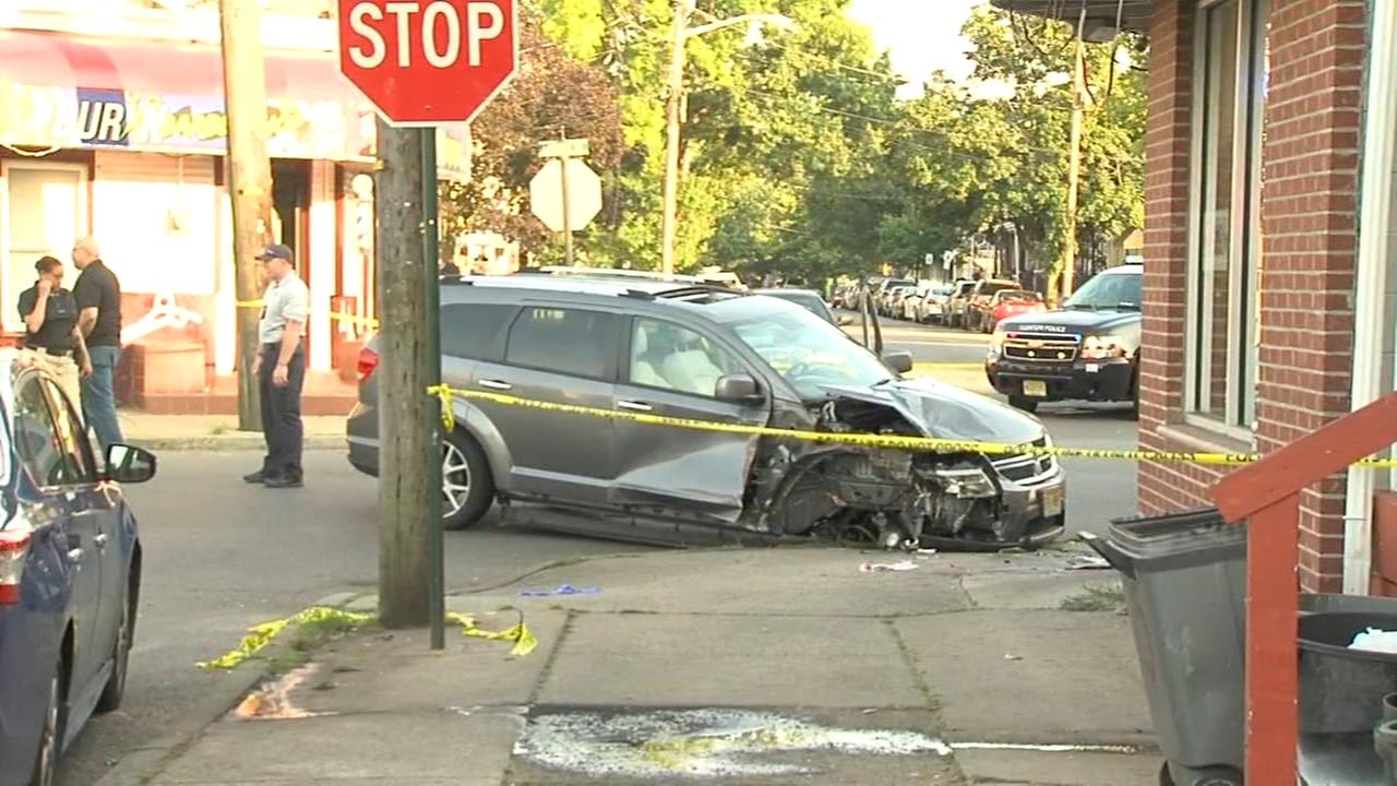Pedestrian injured in Trenton, New Jersey crash