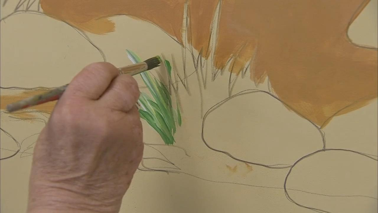 Art used to help break down barriers for patients