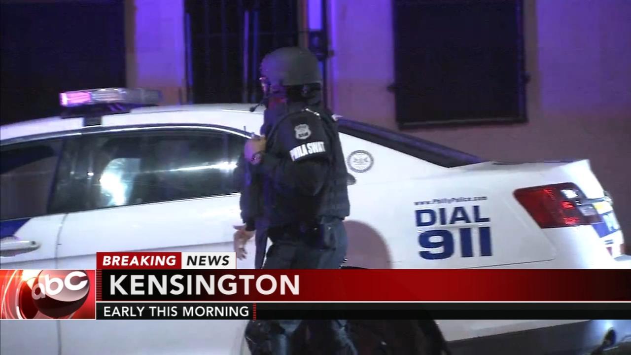 Children safe, man in custody after Kensington standoff