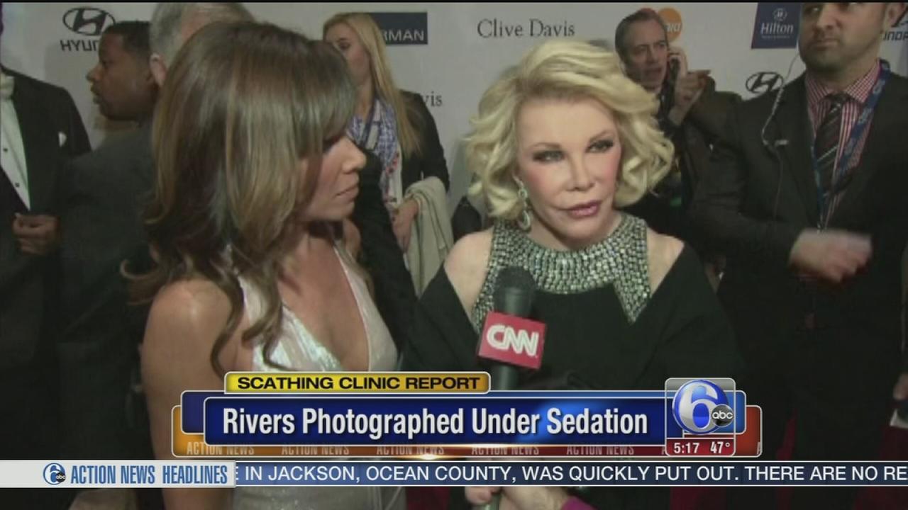 VIDEO: Joan Rivers photographed under sedation