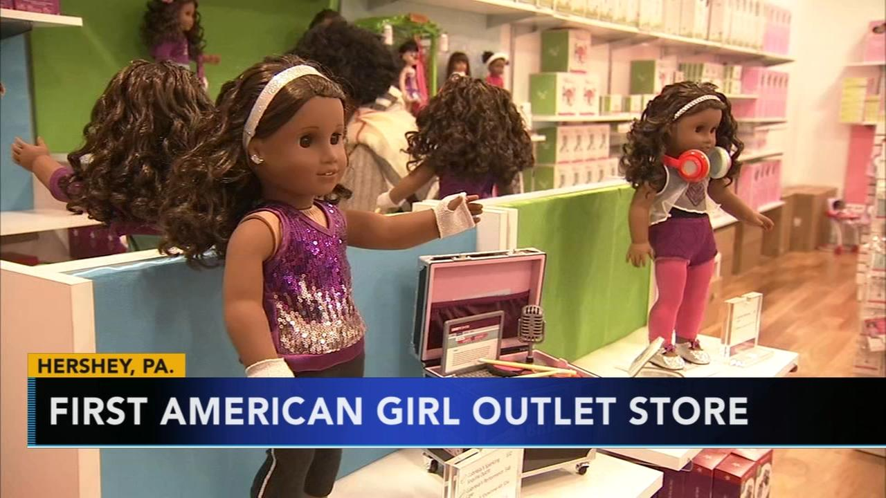 First American Girl Outlet store opening in Hershey, Pennsylvania