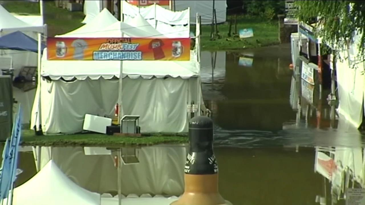 Musikfest back in business following weekend flooding