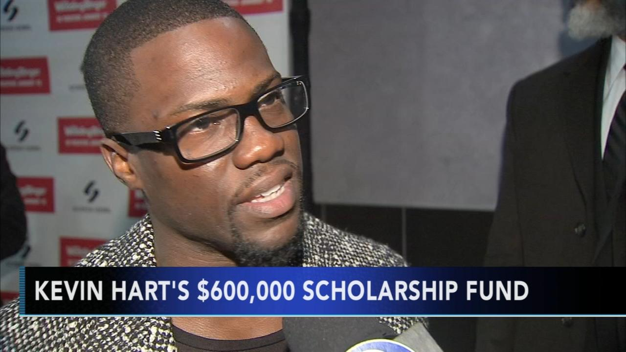 Kevin Hart gives $600,000 to scholarship fund