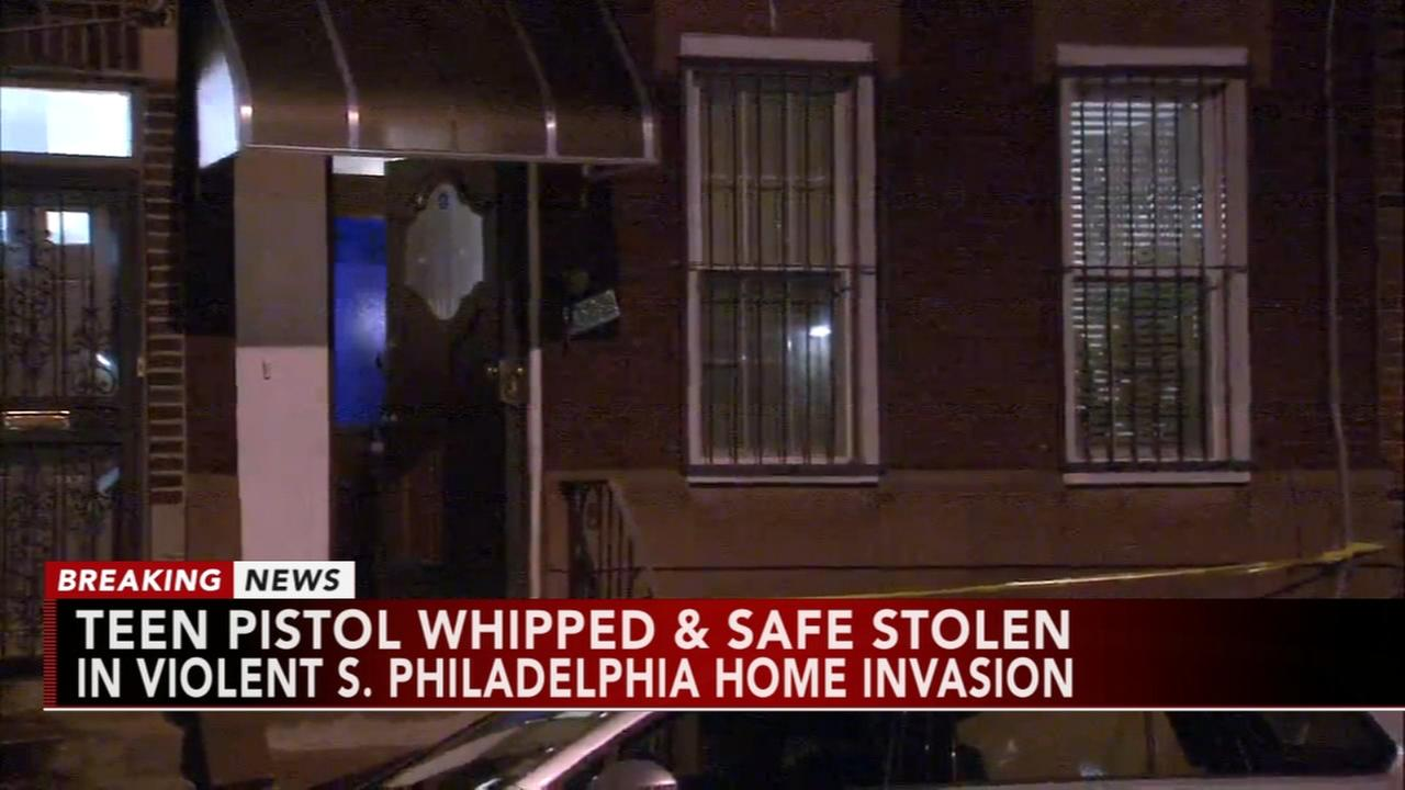 Teen pistol whipped, safes stolen during violent South Philadelphia home invasion