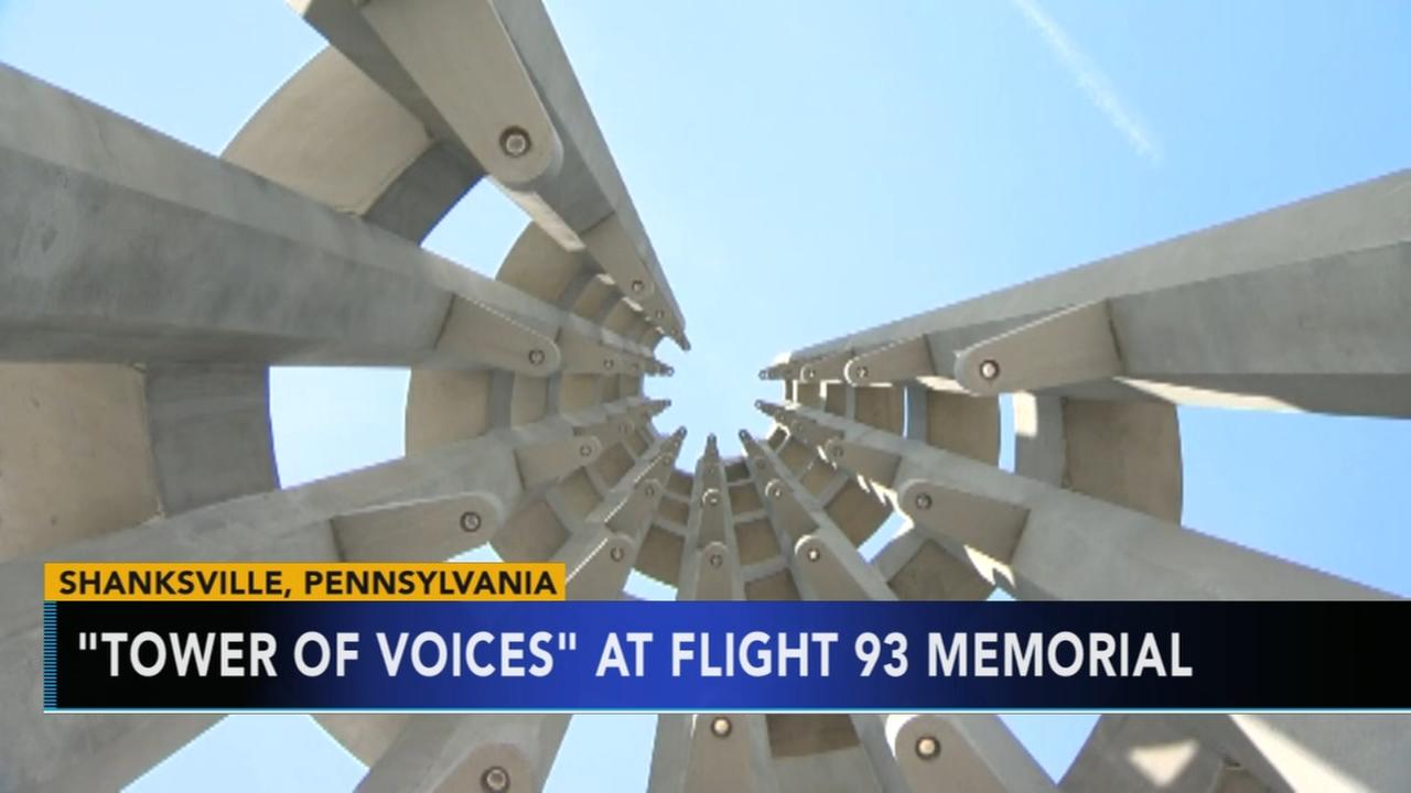 Tower of Voices flight 93 memorial nearly complete