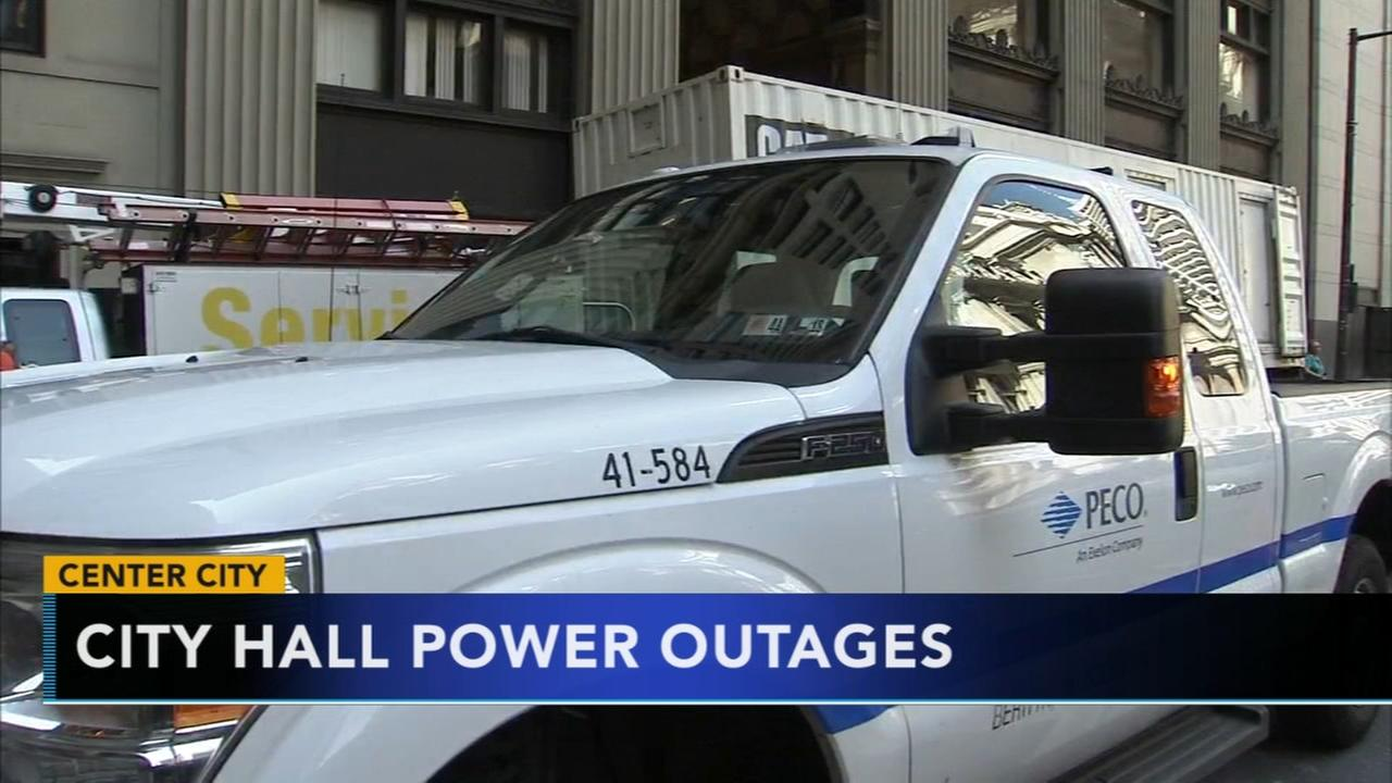 PECO continues work to restore power in Center City