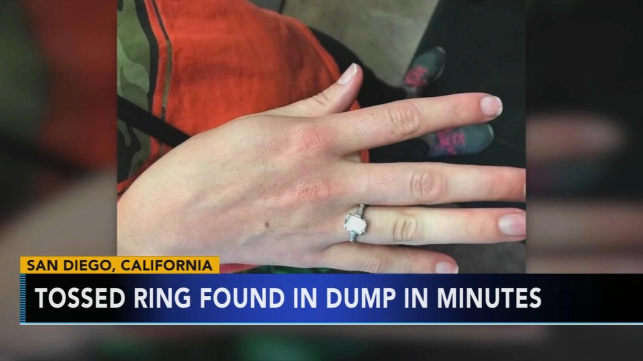 $30K ring accidentally thrown out, found at dump in minutes