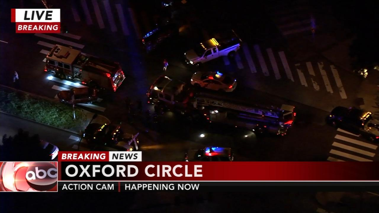 1 person injured in Roosevelt Boulevard crash in Oxford Circle