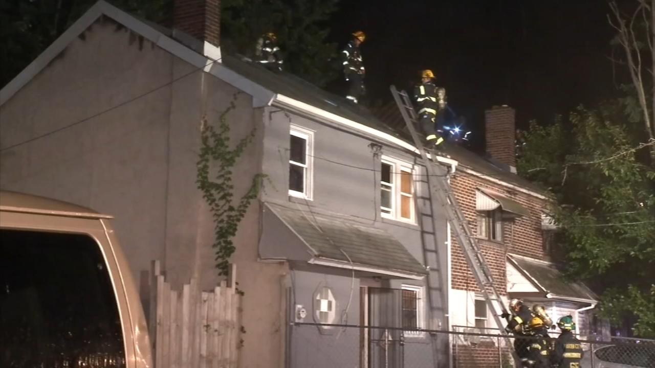 3 row-homes damaged in Chester fire