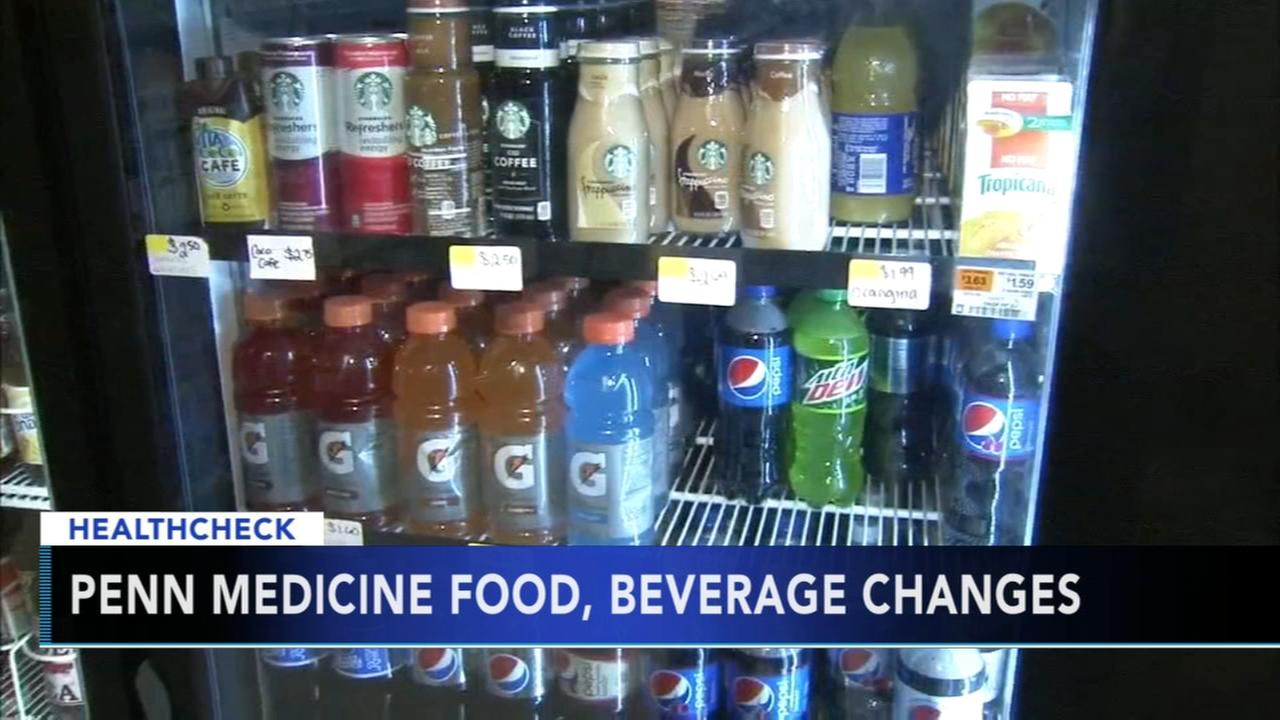 Penn Medicine to remove all beverages with added sugar