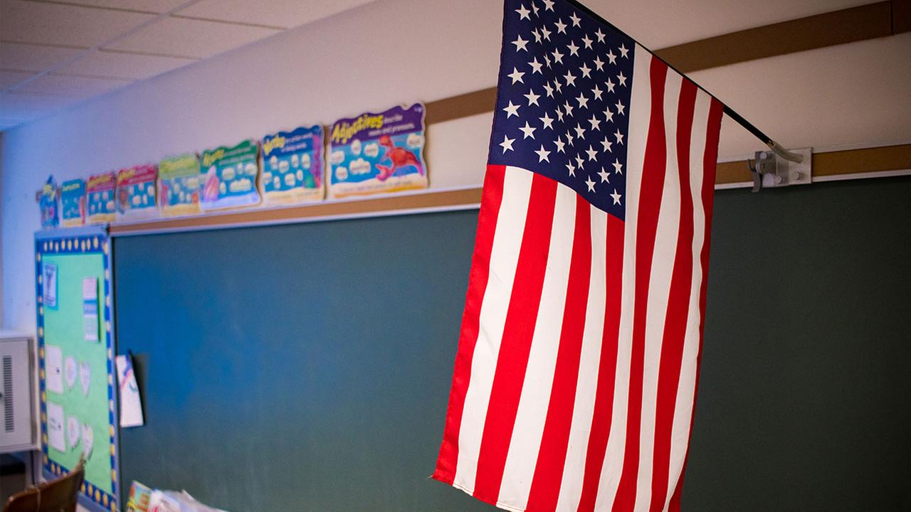 Students at an Atlanta school will no longer say the Pledge of Allegiance to start their school day.