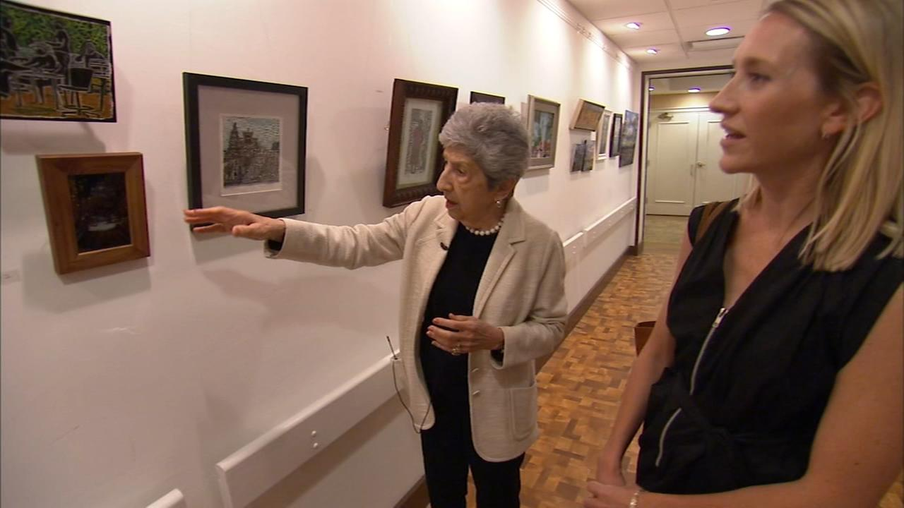 Art of Aging: 95-year-old woman shares love of art at Watermark Residence