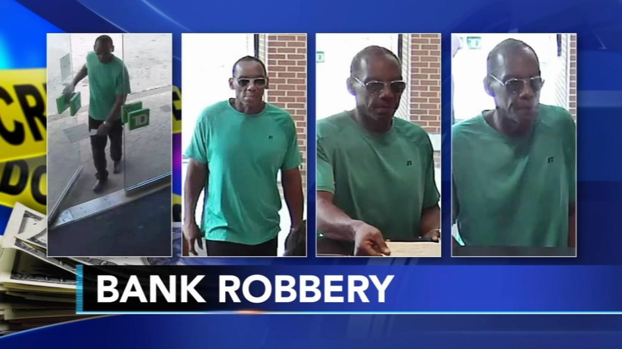 Police:  Man sought for robbery of TD Bank in Wyncote