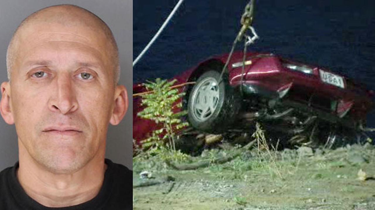 Man in court after allegedly driving wife's Corvette into river