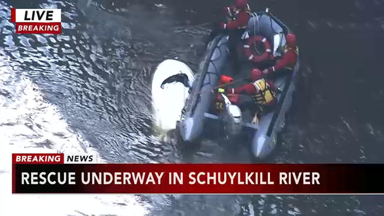 Person rescued from Schuylkill River in West Conshohocken
