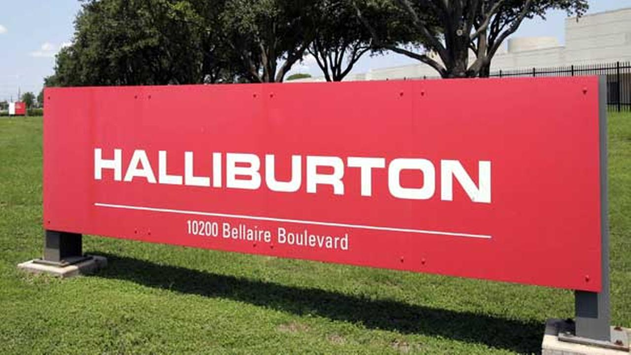 FILE - In this July 17, 2006 file photo, a Halliburton complex in far Southwest Houston is seen.