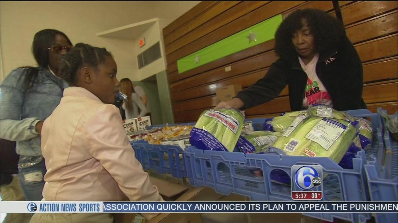VIDEO: Feeding children