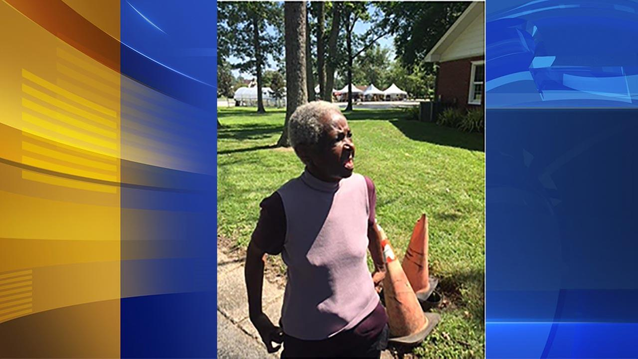 Do you know this woman found wandering in Winslow?