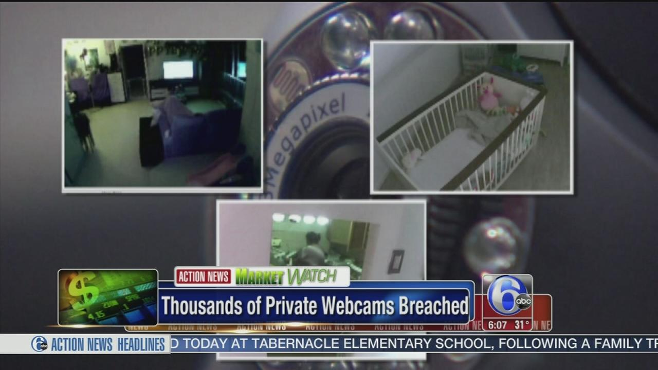 VIDEO: Thousands of private webcams breached