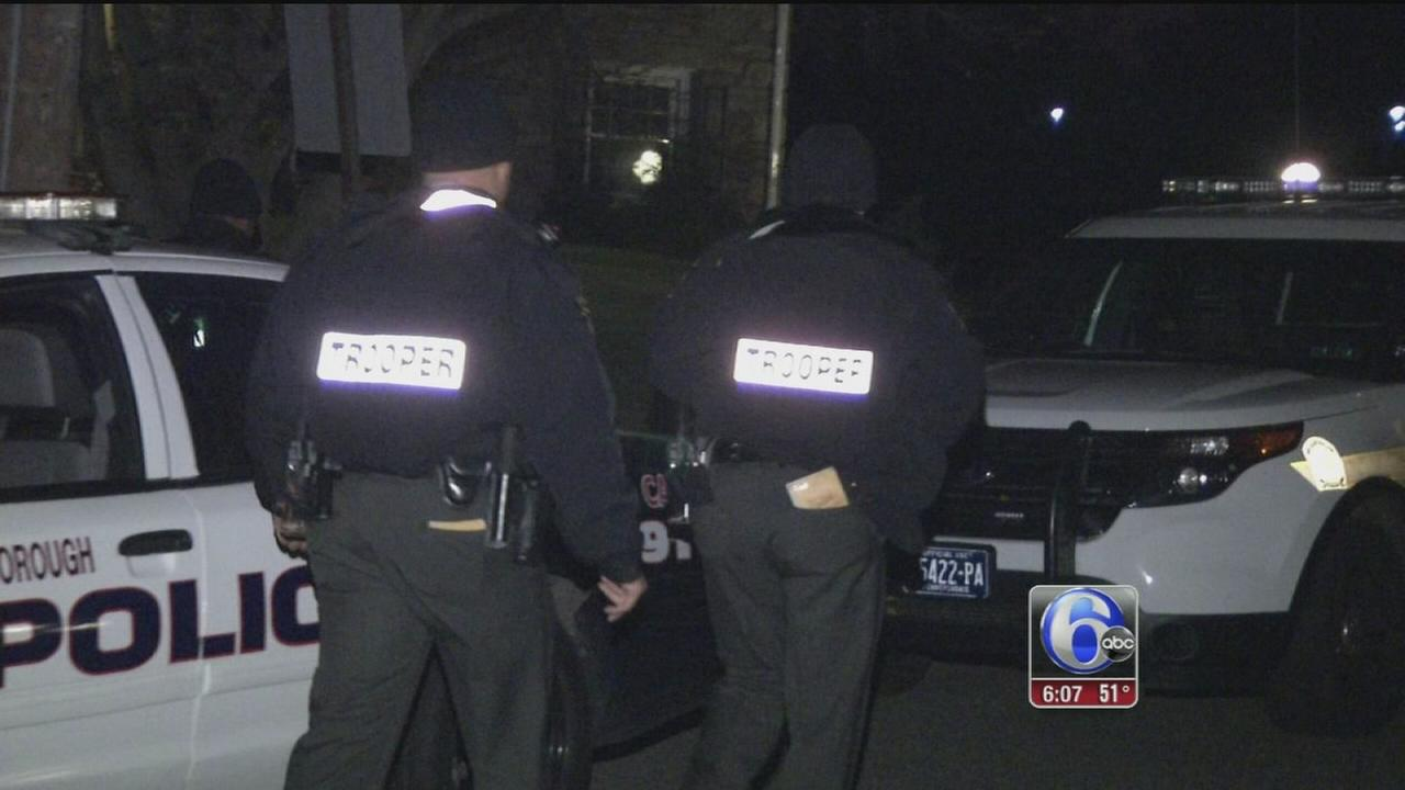 VIDEO: Police fall victim to ?swatting? hoax in Wallingford