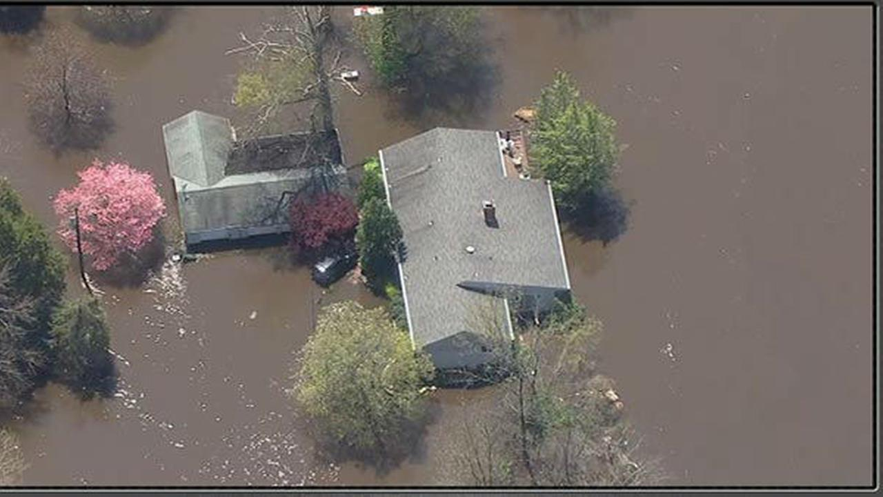 Pictures of flooding in the region