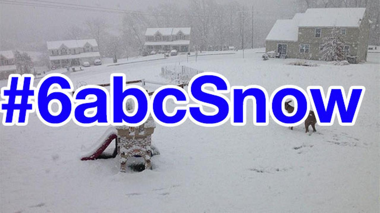 #6abcSnow pictures from Action News viewers!
