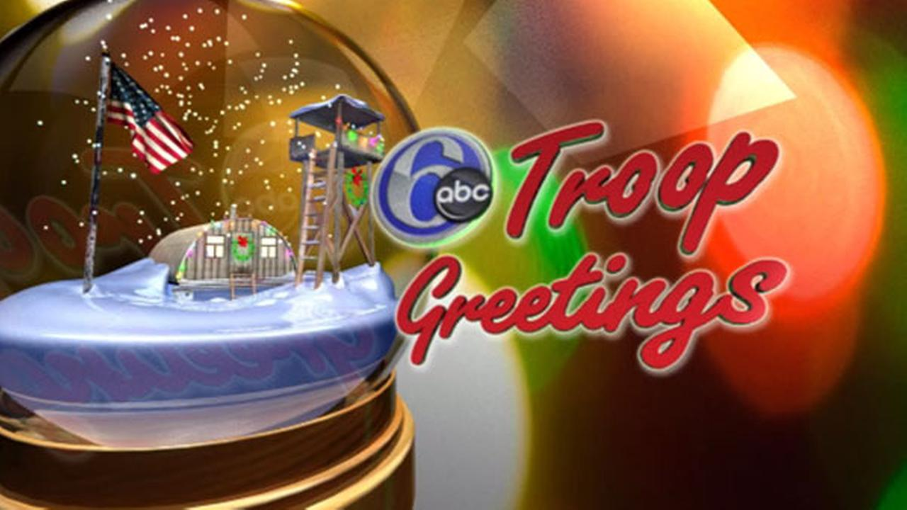Holiday greetings from local service members