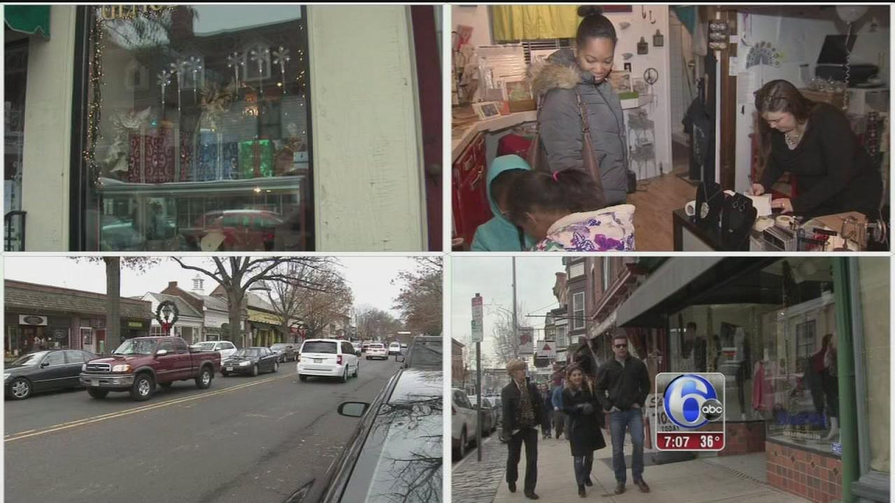 VIDEO: Local shoppers spend big with Small Business Saturday
