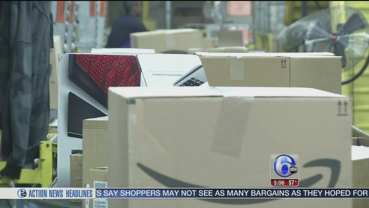 VIDEO: Delivery services ready for Cyber Monday boom