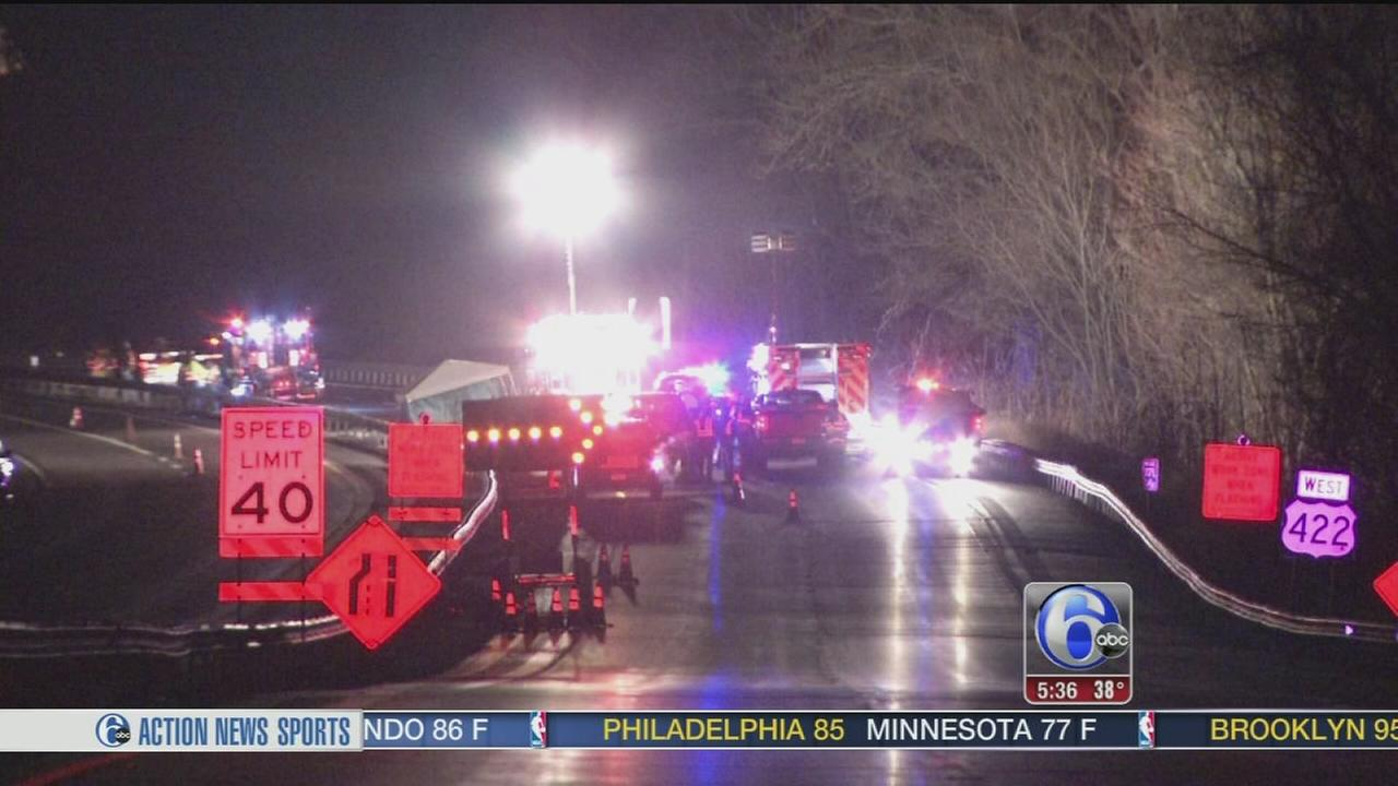 VIDEO: Construction worker struck, killed on Route 422