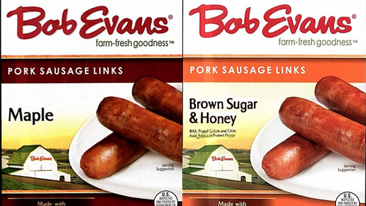Bob Evans sausage links recalled, may contain plastic