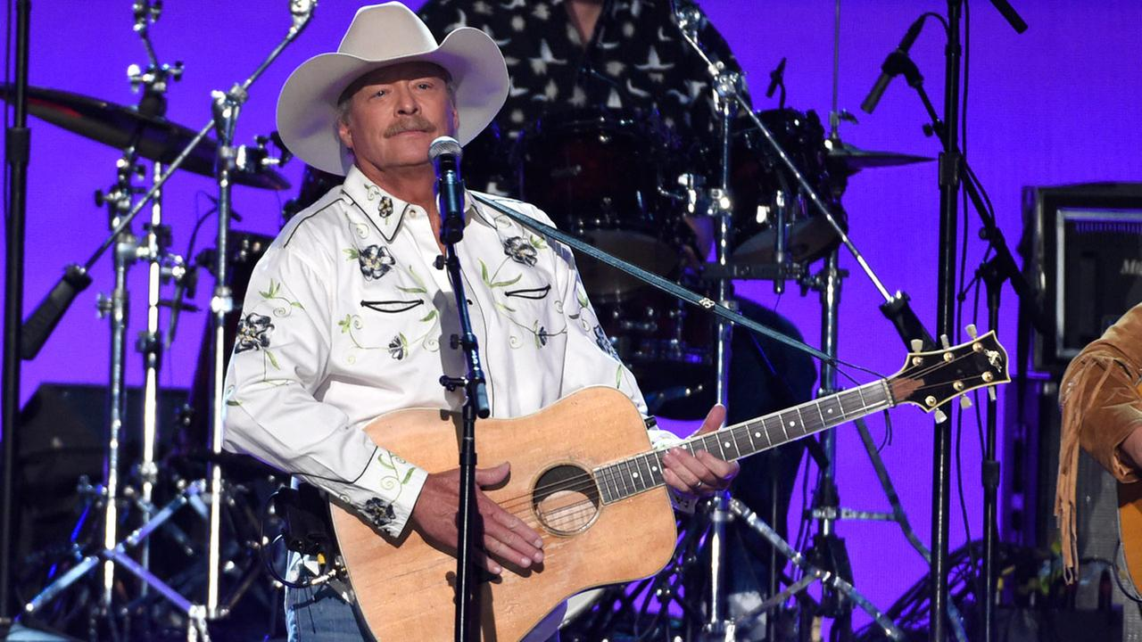 Alan Jackson performs at the 53rd annual Academy of Country Music Awards at the MGM Grand Garden Arena on Sunday, April 15, 2018, in Las Vegas.