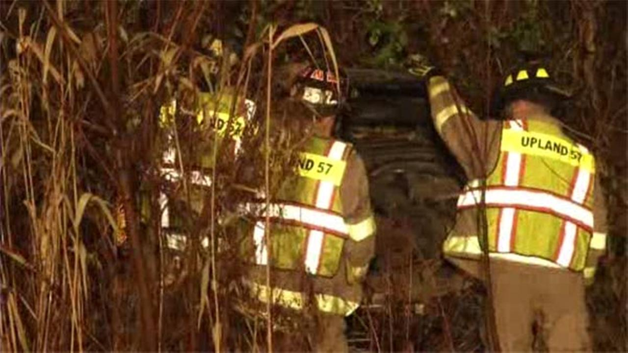 Taxi driver, passenger hurt in Delaware Co. crash
