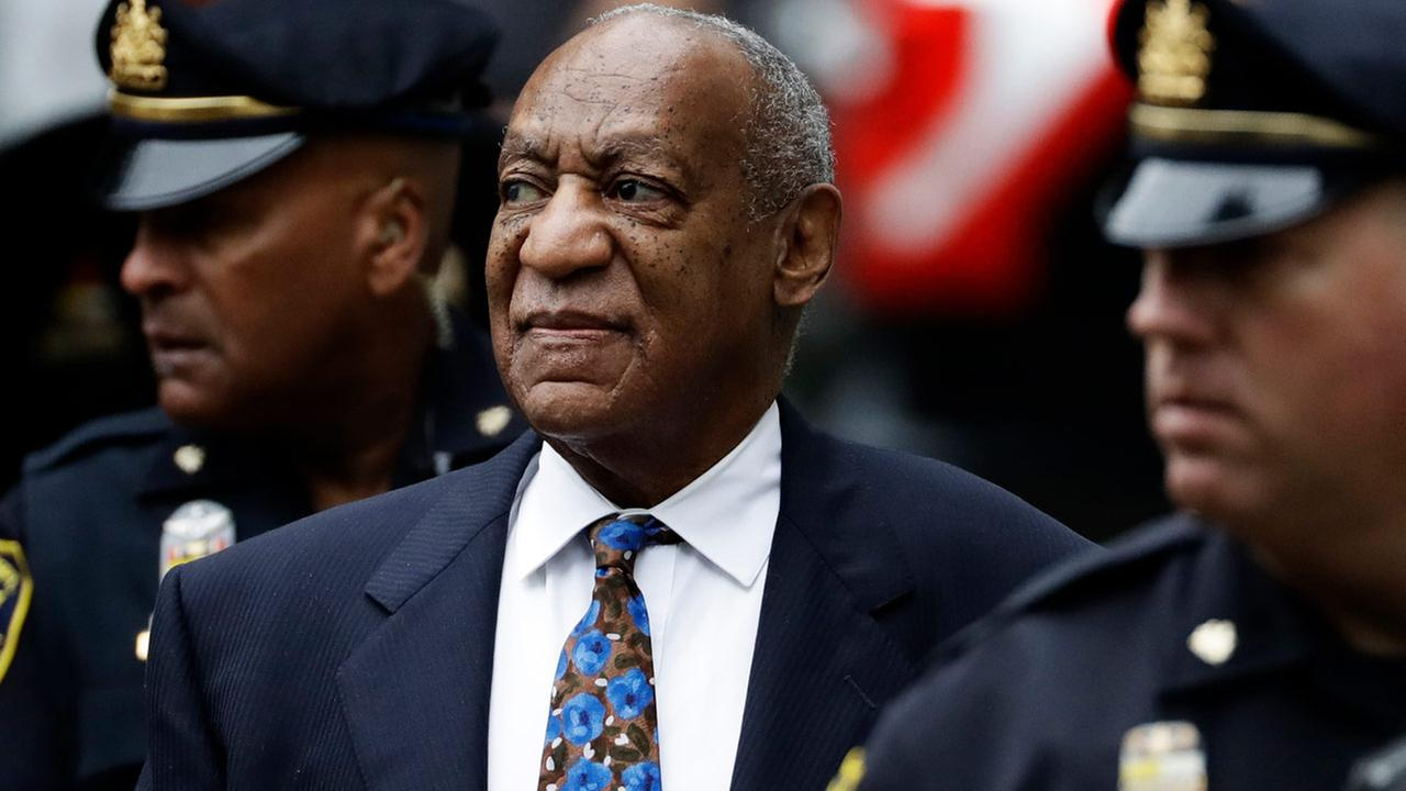 Bill Cosby arrives for his sentencing hearing at the Montgomery County Courthouse, Monday, Sept. 24, 2018, in Norristown, Pa.