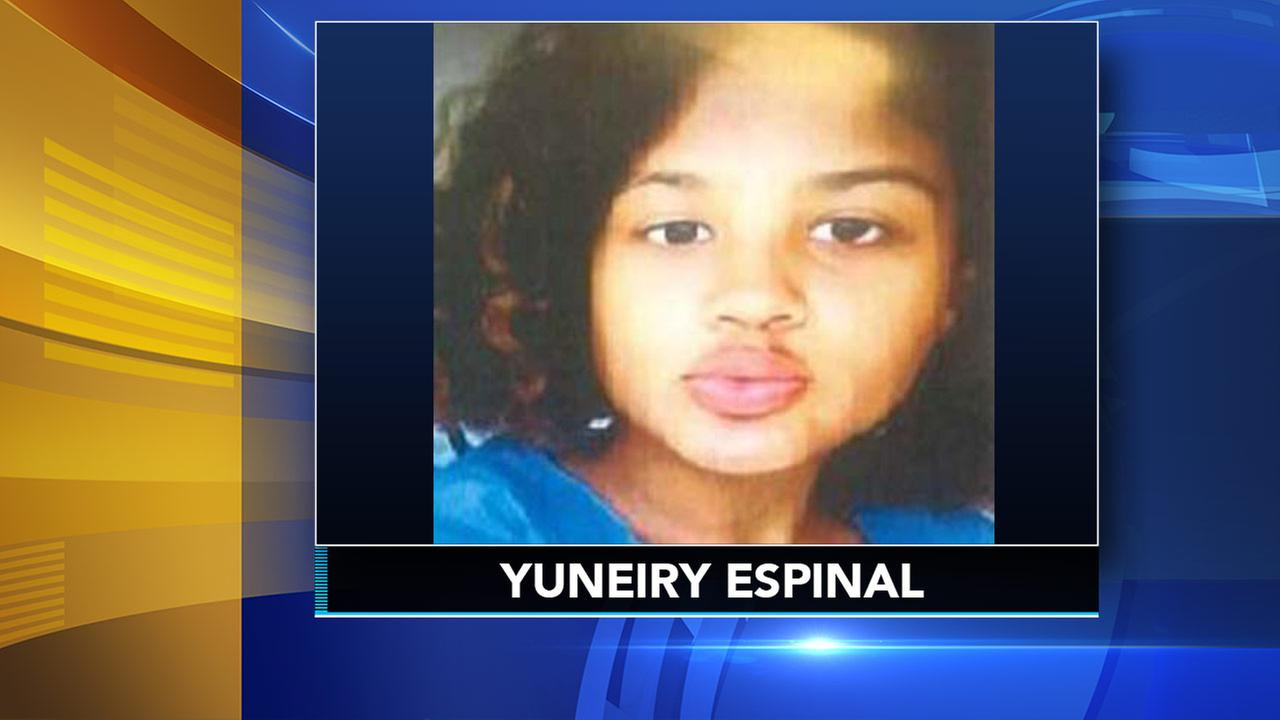 Camden County police search for missing 14-year-old girl Yeneiry Espinal