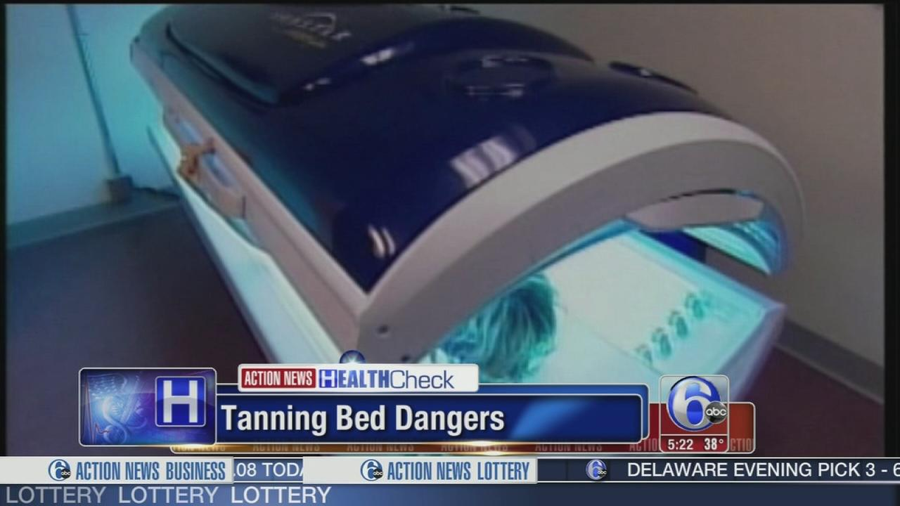 VIDEO: Study points out the dangers of tanning beds