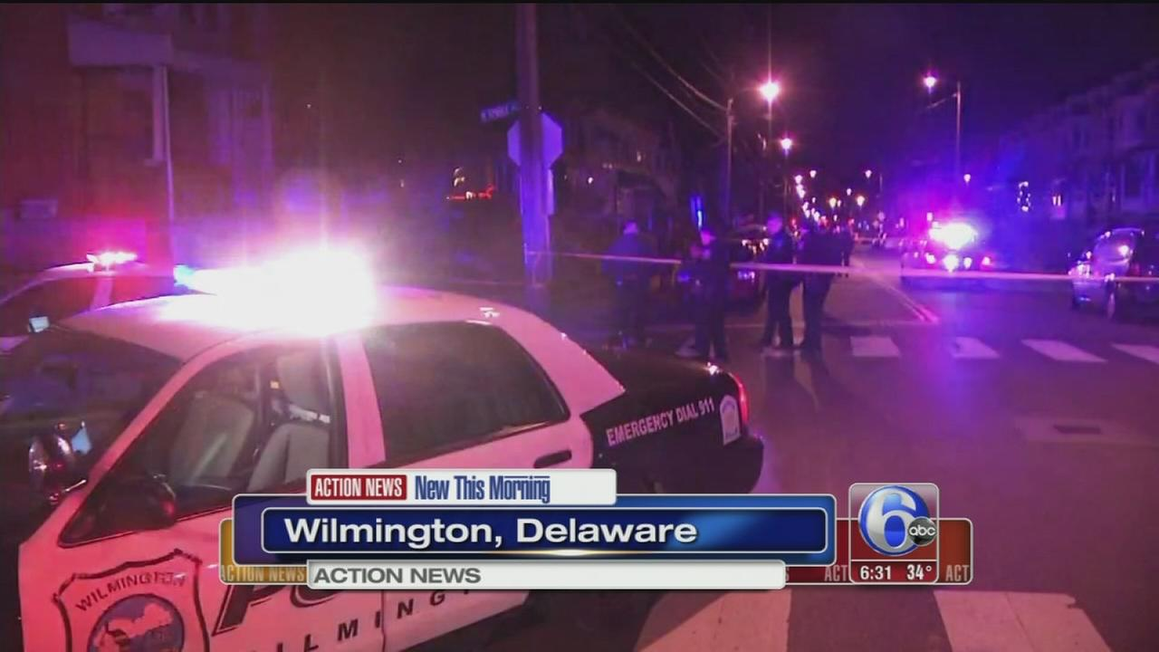 VIDEO: Man shot in chest in Wilmington