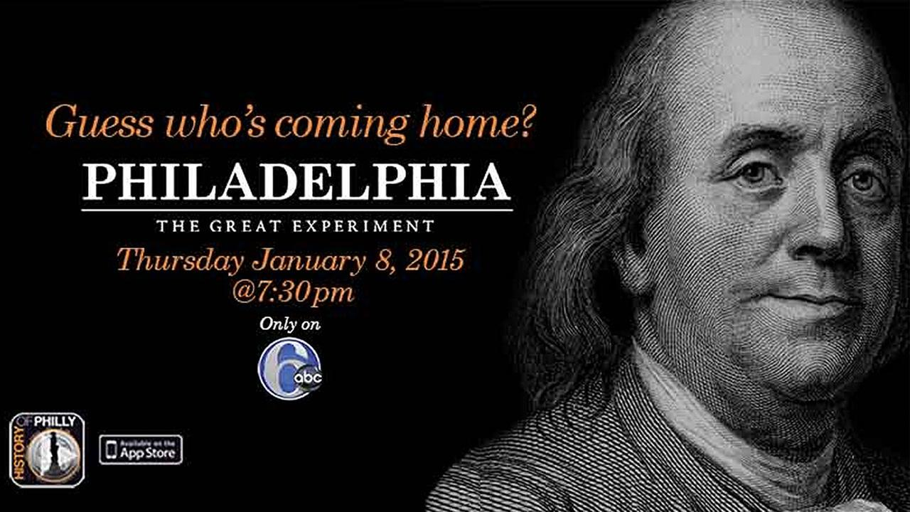 Tune to 6abc on Thursday, January 8, 2015 at 7:30PM to watch the broadcast premiere!