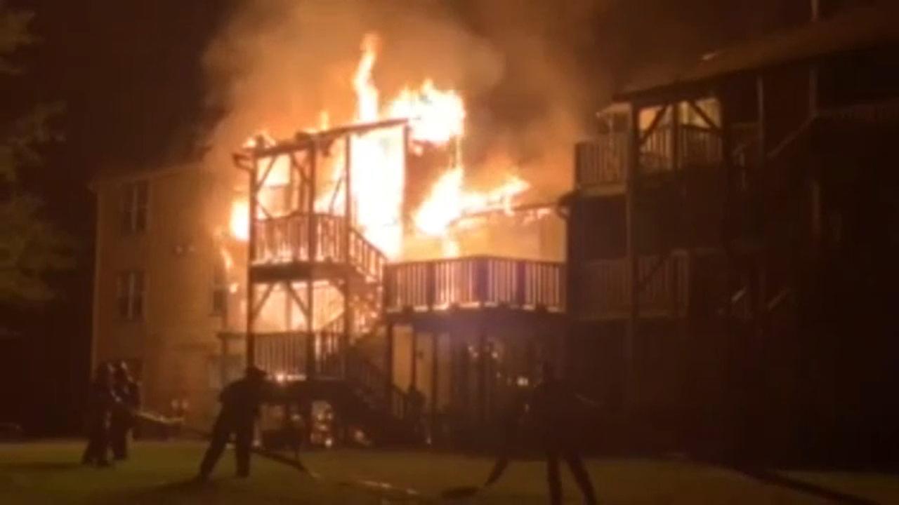 Windsor Commons apartment fire leaves 9 families homeless in Mercer ...