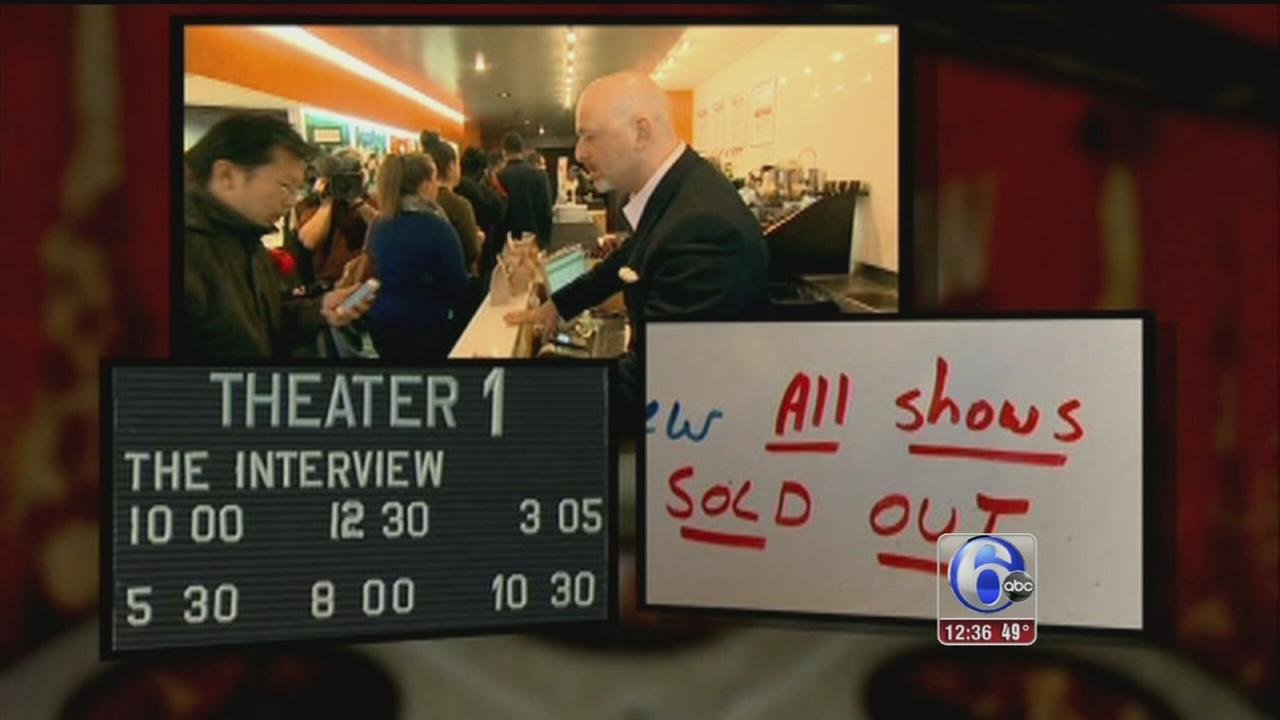 VIDEO: Capacity crowds pack theaters for The Interview
