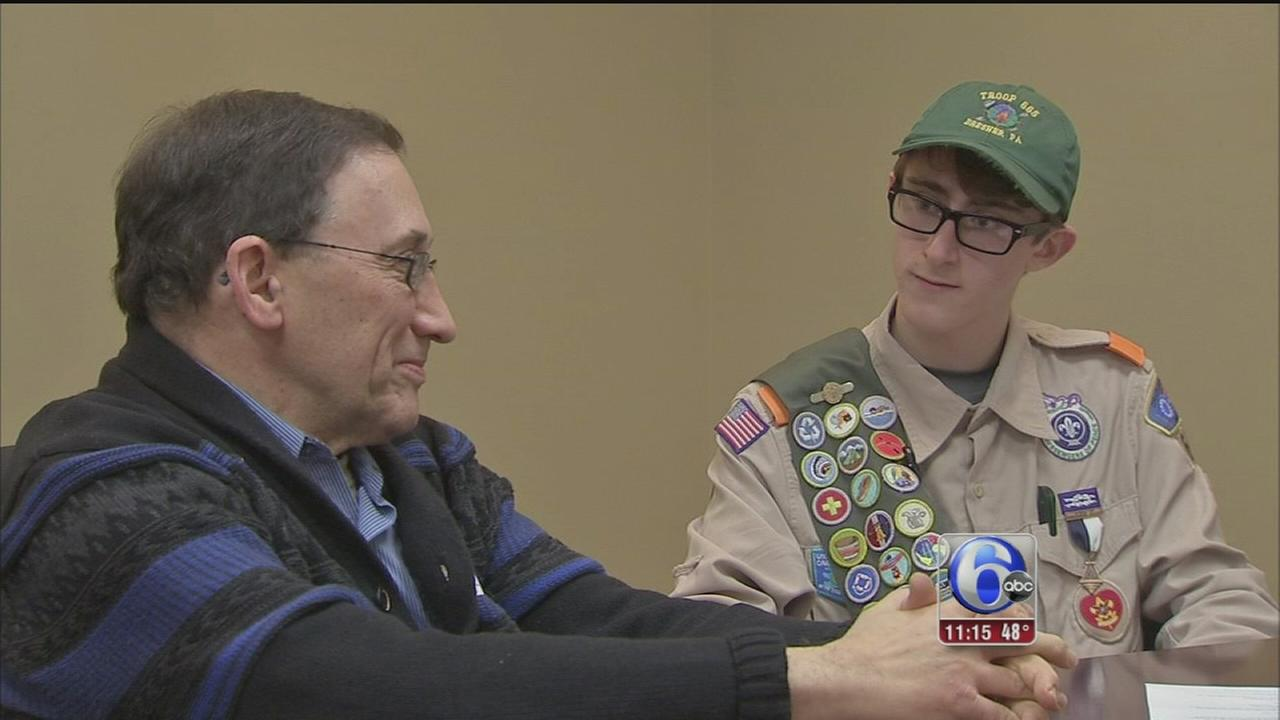 VIDEO: Montco Boy Scout on a mission to honor veterans