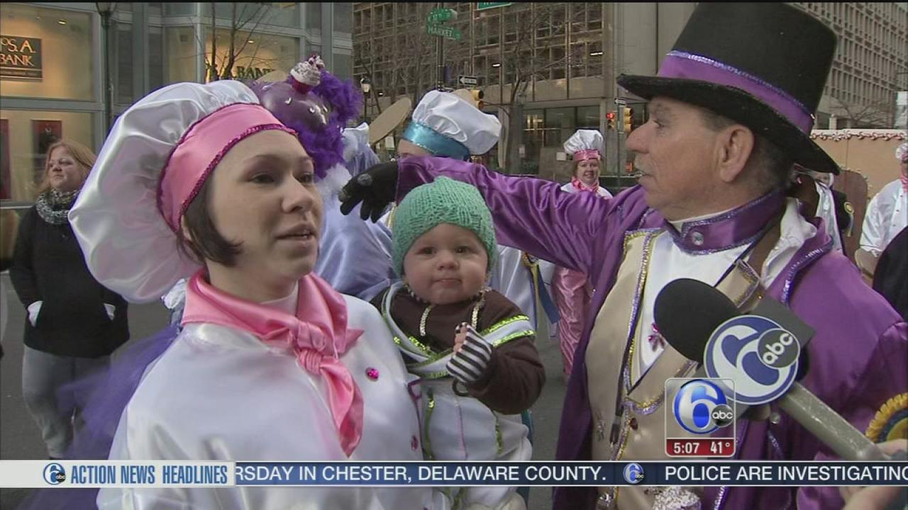 VIDEO: Families keep tradition alive in Phillys Mummers Parade